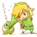 Cute link the legend of zelda 27974298 400 358