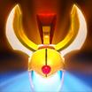 Press the attack icon