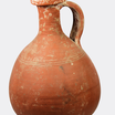 Roman red pottery flask oct10 16 1