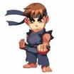 Super puzzle fighter ii turbo hd remix ryu chibi character art screenshot