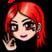 Emote red hair