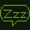 Stock vector sleep zzz speech bubble 104143064