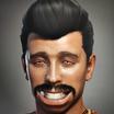 Fake profile pic