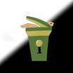 Kakuge trash