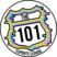 The 101 logo vector