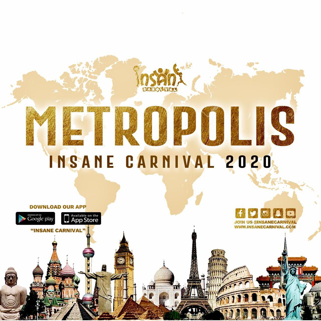 "Insane Carnival presents ""Metropolis"""