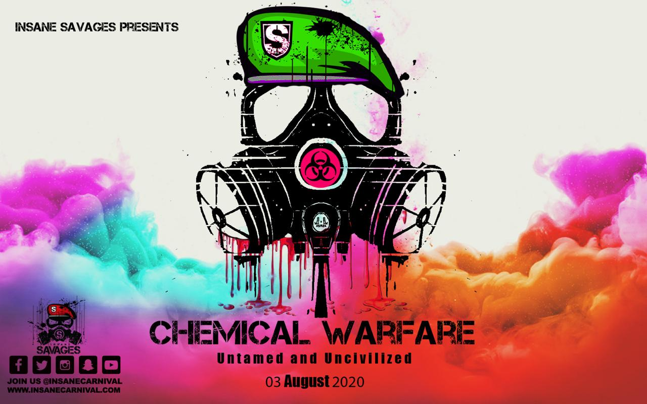 Insane Savages presents Chemical Warfare - Antigua Carnival J'Ouvert