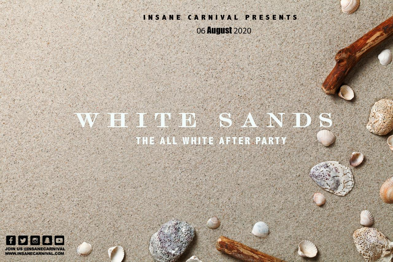 "Insane Carnival presents ""White Sands: The All White After Party"""