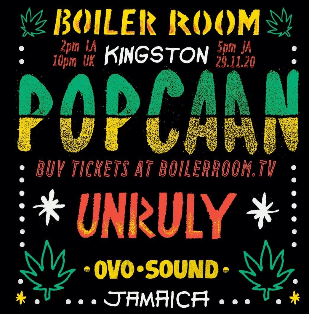 Roots Percussionist performs with Popcaan on the Boiler Room: an OVO Sound Exclusive