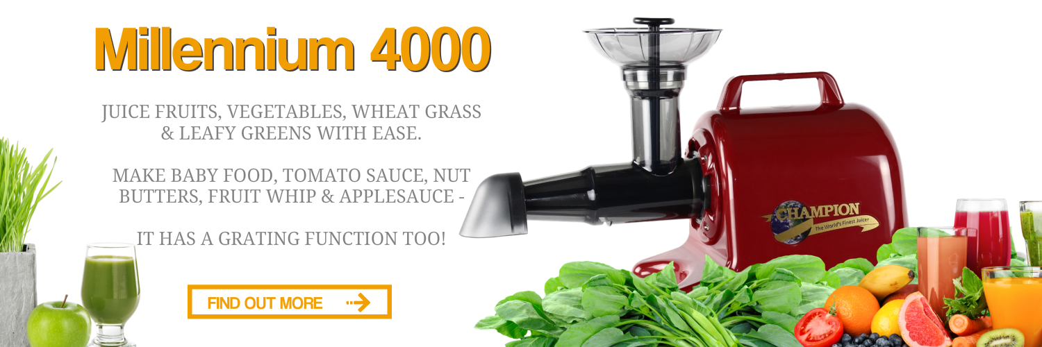 American Made Juicer ~ Official champion juicer best masticating