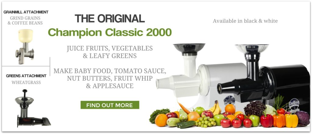 manual champion juicer