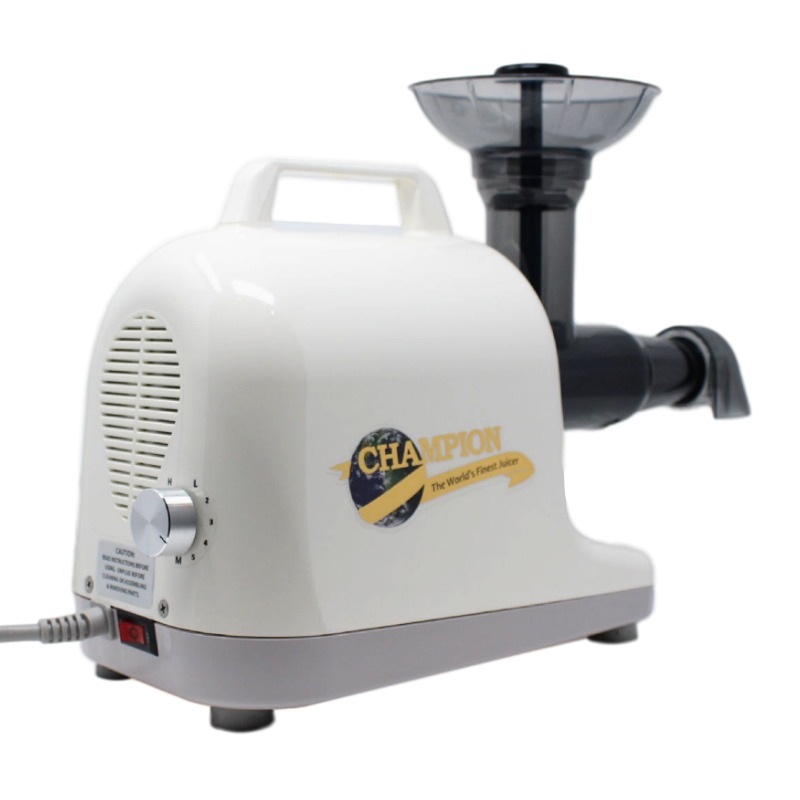 Champion Juicer | Champion Professional 5000 Dual Auger Masticating Juicer in Ivory | Shop Juicers