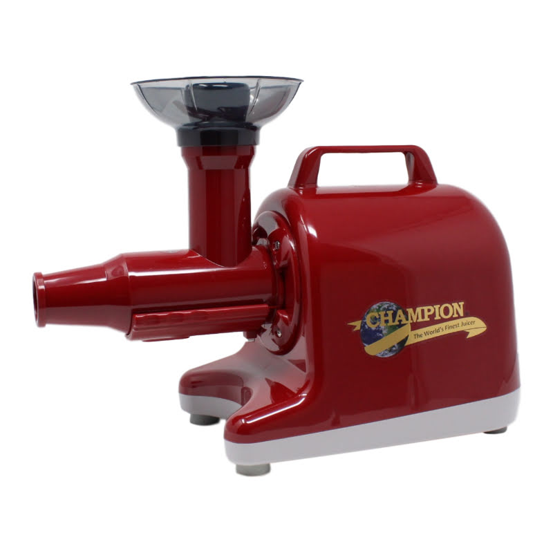 CHAMPION LEGACY 3000 Single Auger Masticating Juicer Cherry Red