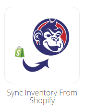 Inventory from Shopify