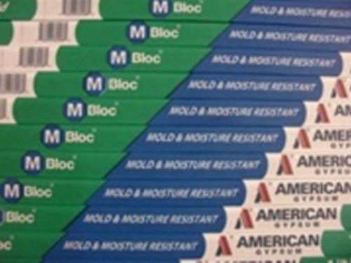1/2 in x 4 ft x 8 ft American Gypsum M-BLOC Gypsum Board