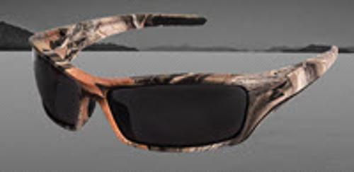 Edge Eyewear Reclus Safety Glasses - Camo Frame/Smoke Lens