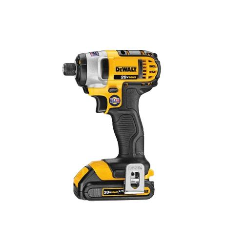 1/4 in DeWALT 20V MAX* Lithium Ion Brushless 3-Speed Impact Driver