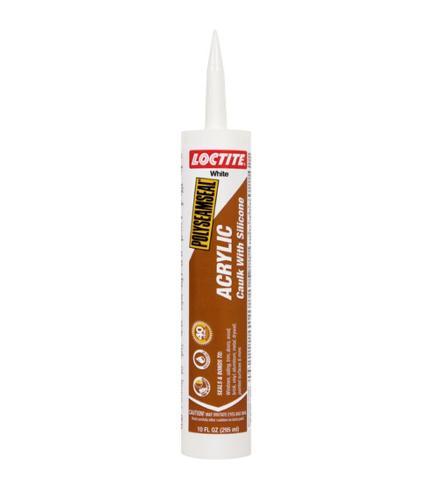 Loctite Polyseamseal Acrylic Caulk w/ Silicone - 10 oz Tube