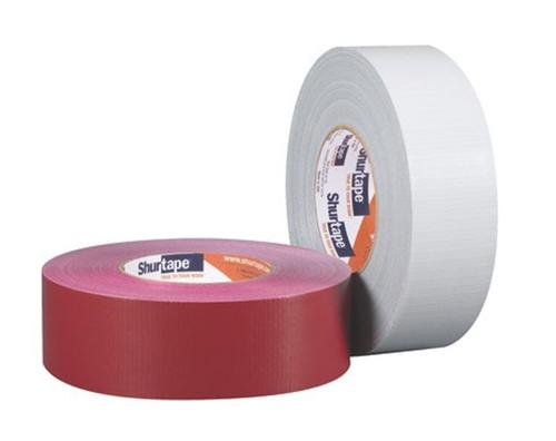 2 in x 60 yd Shurtape PC-667 Non-Residue Outdoor Cloth Duct Tape - Red