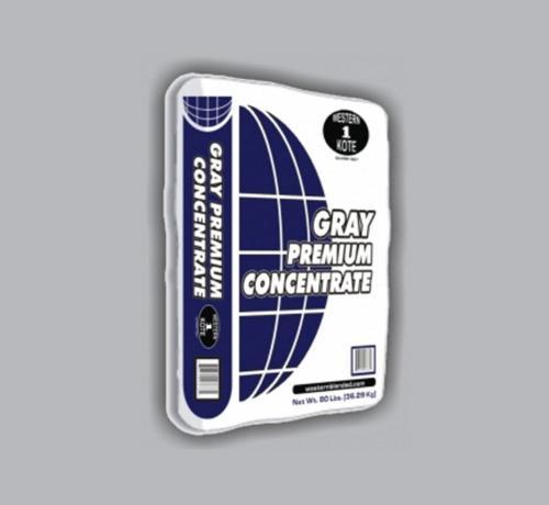 Western 1-Kote Gray Premium Concentrate - 80 lb