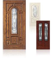 Custom Door Stain Colors