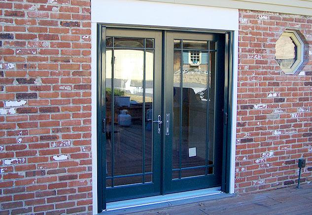 Patio doors chapman windows doors siding for Western building products exterior doors