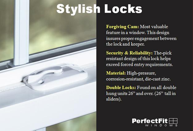 Bathroom Window Lock Broken breakage protection - chapman windows, doors & siding