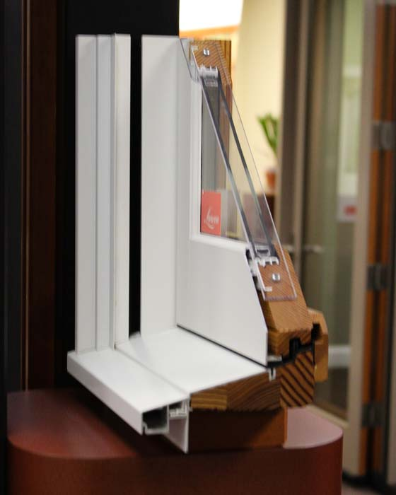aluminum clad wood windows