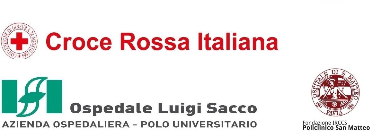 Croce Rossa Italiana, Ospedali Sacco, Spallanzani e San Matteo