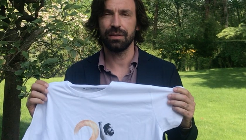 Take a selfie with Andrea Pirlo and get his shirt at his farewell to football match!