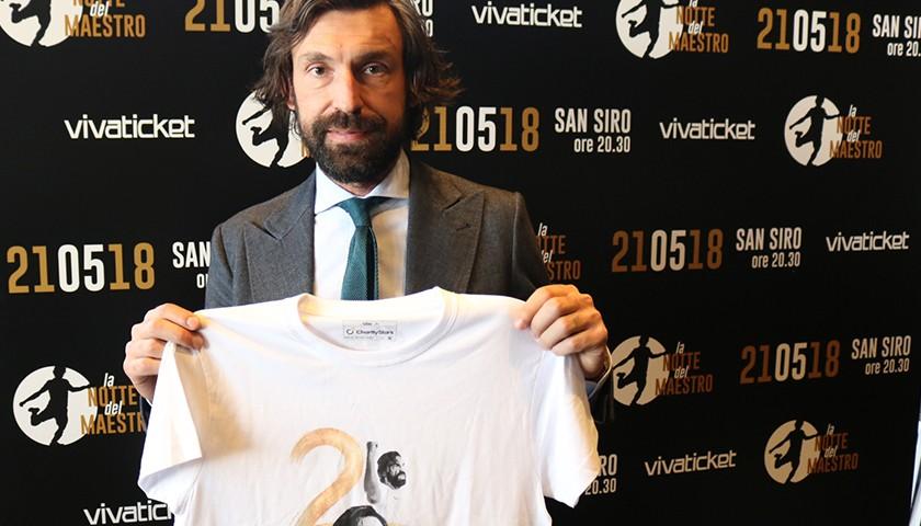 """Andrea Pirlo's """"La notte del Maestro"""" Shirt"""