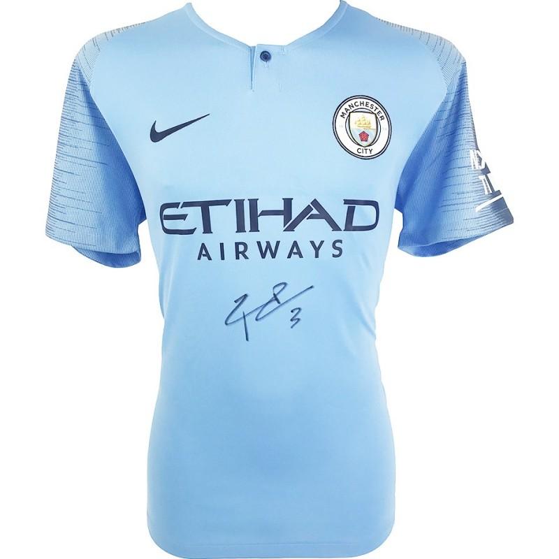 Dias' Man City Signed Shirt