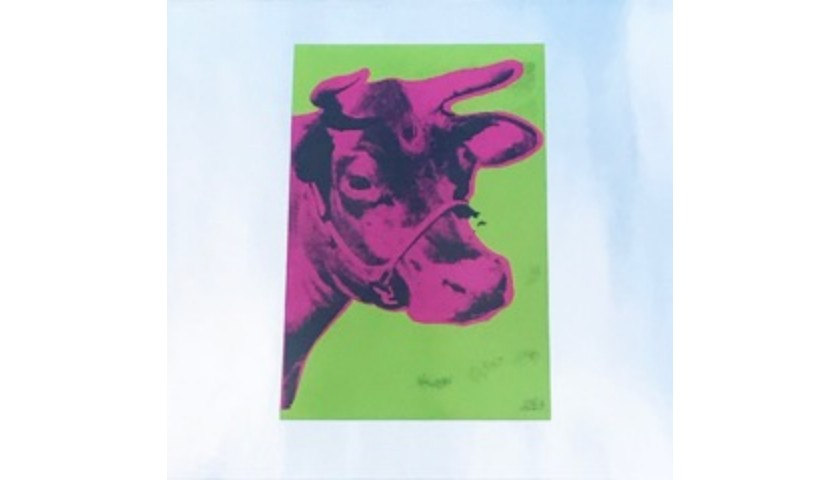 """""""Pink Cow"""" by Andy Warhol"""