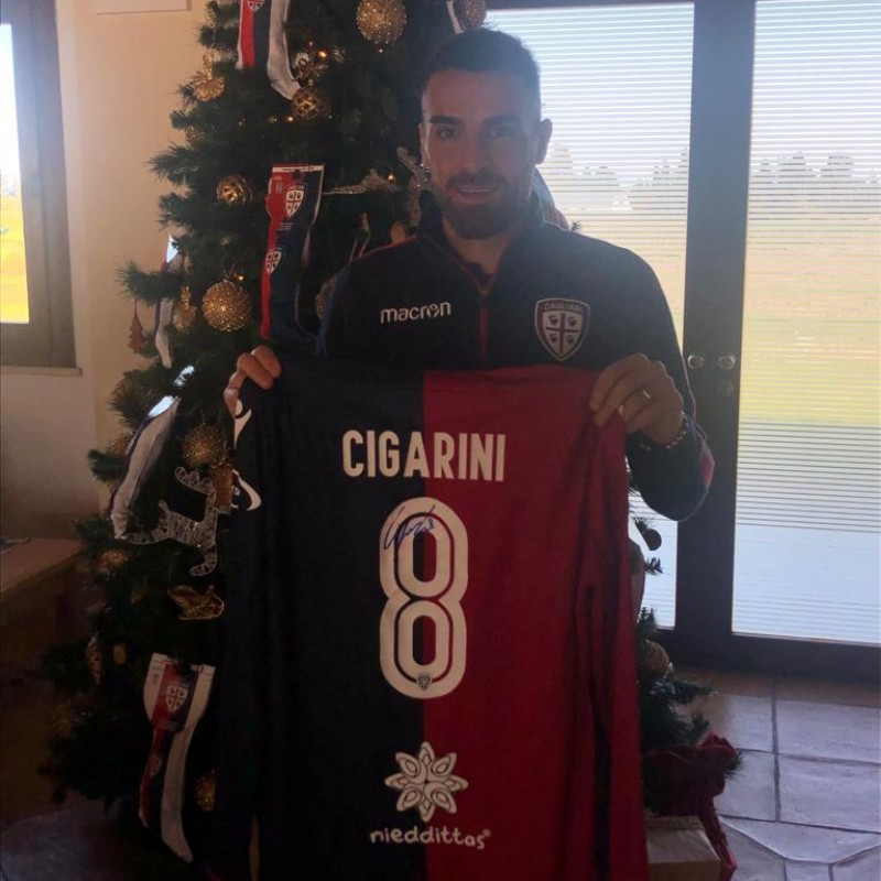 Cagliari Festive Shirt - Worn and Signed by Cigarini
