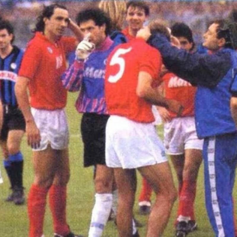 Carnevale's Napoli Worn Shirt, 1988/89