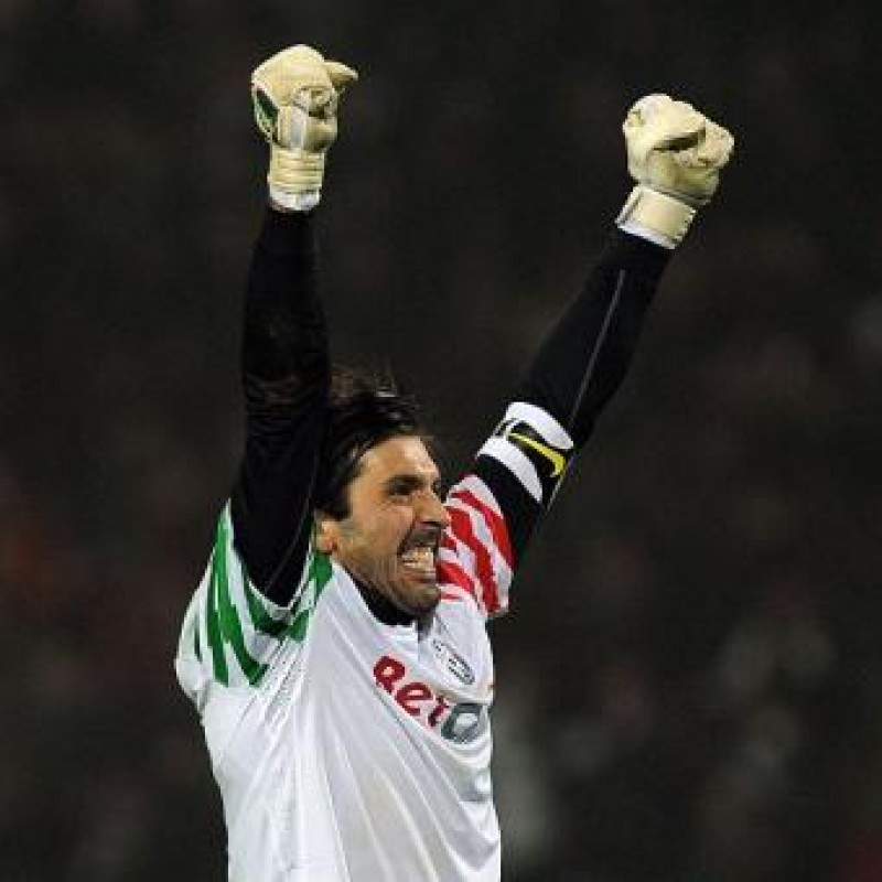 Juventus Match Socks - Signed by Buffon