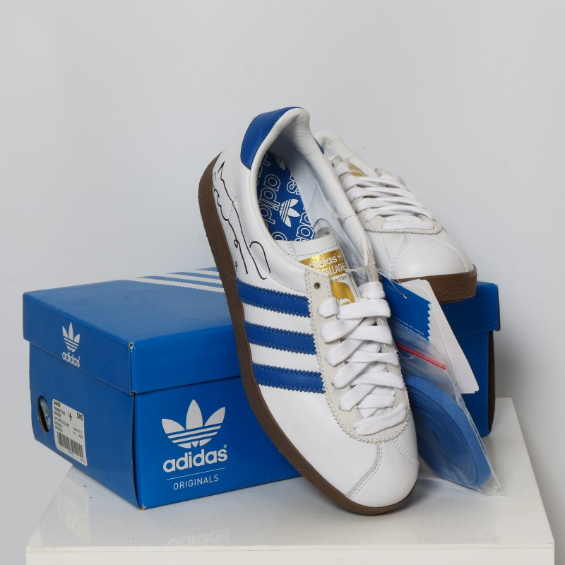 Signed Noel Gallagher Adidas Limited Edition Trainers