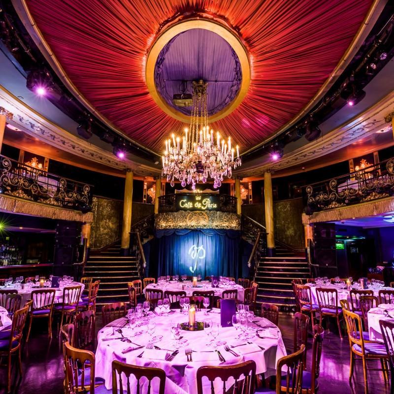 Enjoy a Café De Paris Dining, Show and Club Experience
