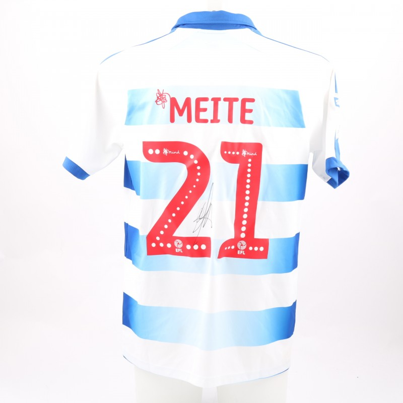 Méïté's Match-Worn Reading FC Signed Poppy Home Shirt