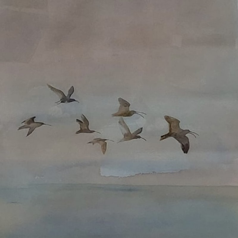 Beautiful Painting by Jim Moir aka Vic Reeves