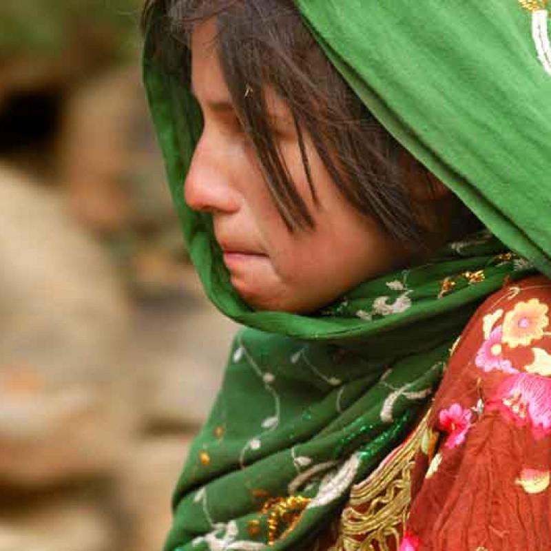 """La ragazza di Paghman"" Photograph by Lorenzo Merlo"