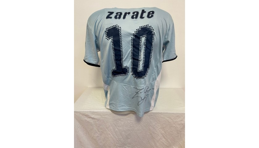 Zarate's Official Lazio Signed Shirt, 2008/09