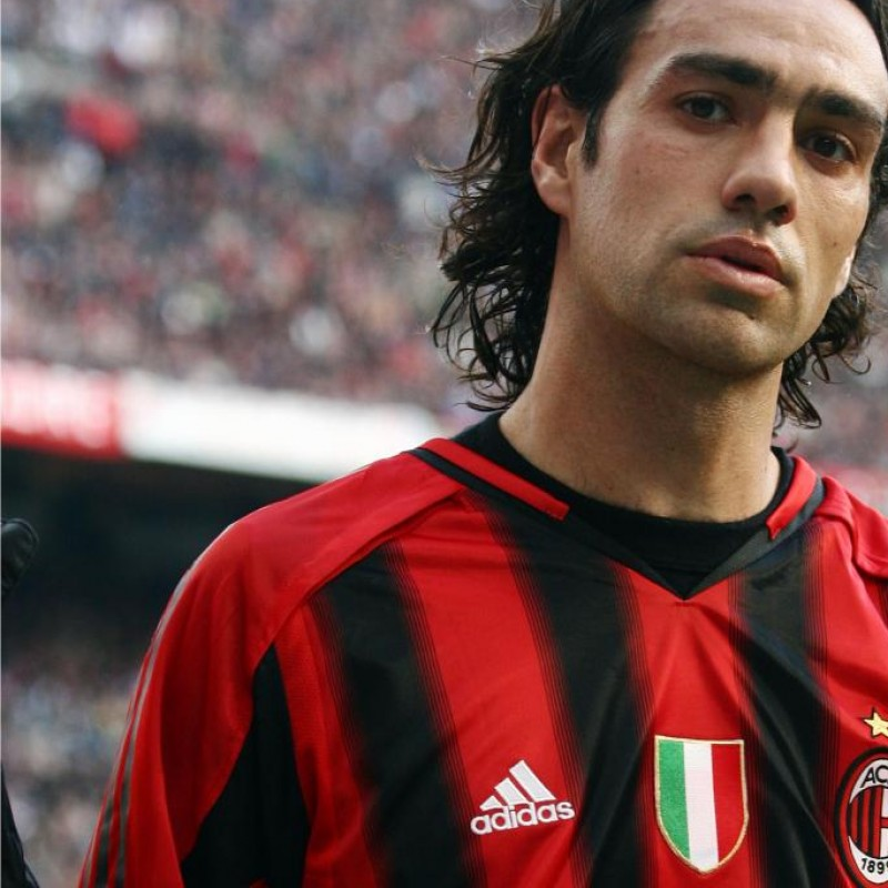 Nesta Milan shirt, issued/worn Serie A 2004/2005