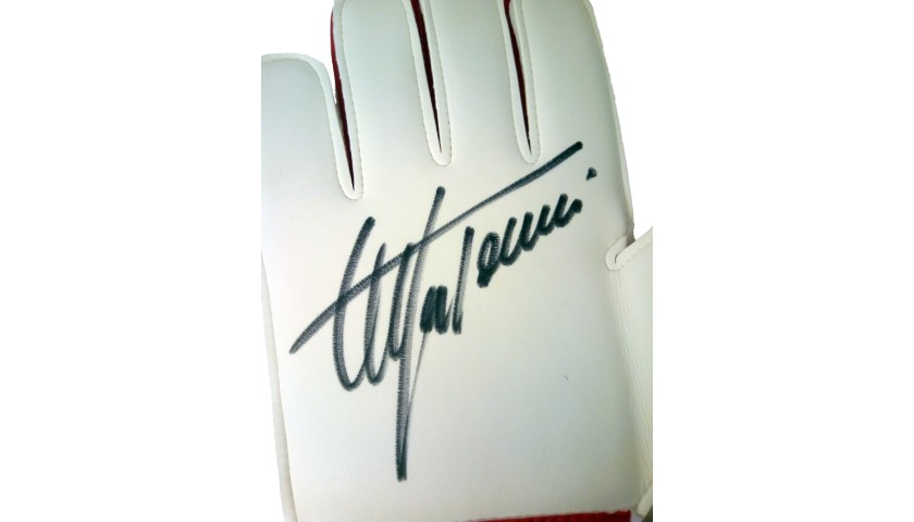 Uhlsport Gloves Signed by Stefano Tacconi