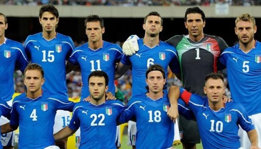 Buffon's Match Shirt, Germany-Italy 2011