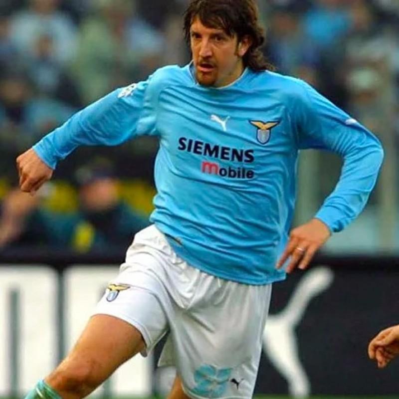 Negro's Lazio Worn Shirt, 2002/2003