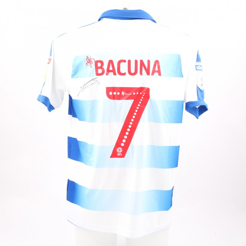 Bacuna's Match-Worn Reading FC Signed Poppy Home Shirt