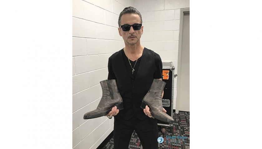 Dave Gahan (Depeche Mode) Signed Shoes