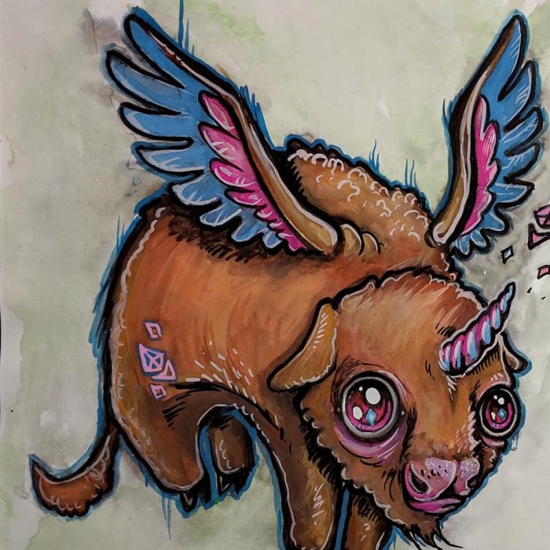 """""""Buff-Alicorn"""" by Mar Williams"""