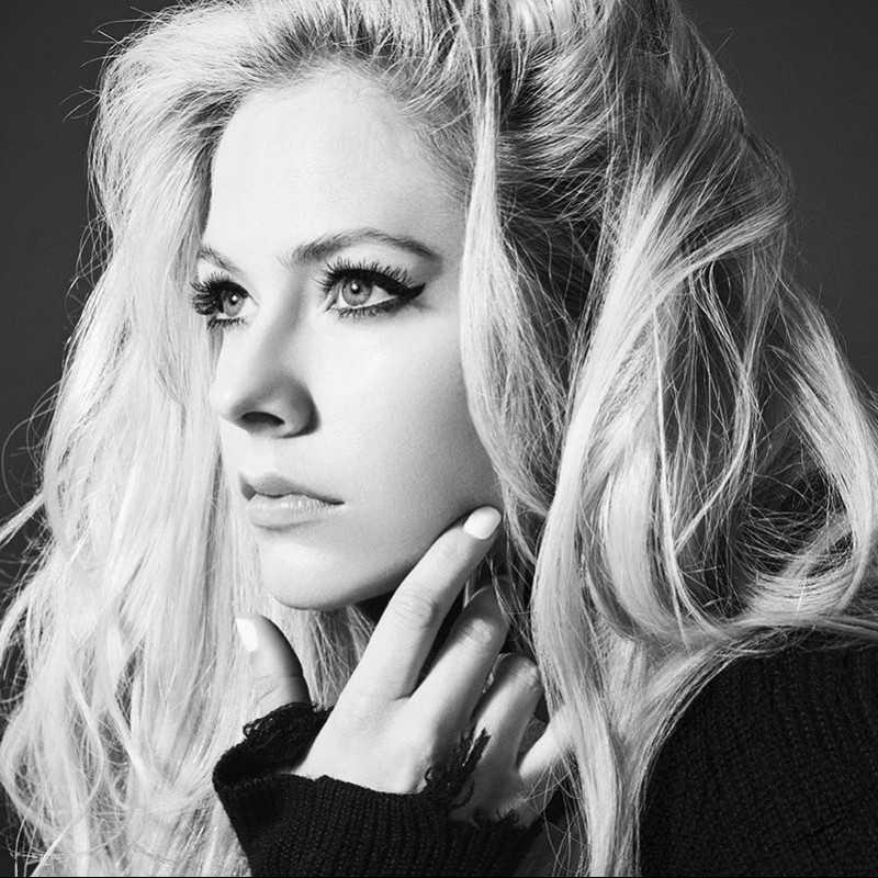 "Sit in Avril's ""VIP Section"" in London, United Kingdom April 5"